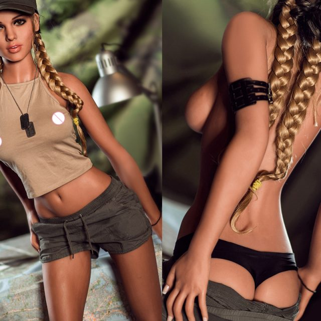 Army Girl Silicone Sex Doll